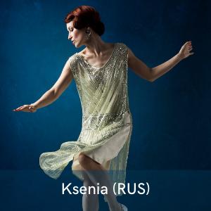 Ksenia Parkhatskaya , la danseuse qui émerveille le festival Swinging Montpellier