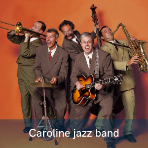 Appréciez l'énergie à revendre des Caroline jazz band au festival Swinging Montpellier