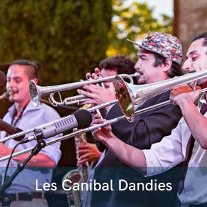 Les Canibal Dandies et le vieux Jazz au festival de musiques et de danses swing, Swinging Montpellier
