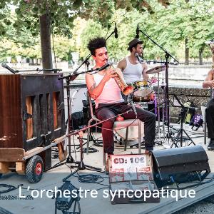 Le grand orchestre syncopatique au festival de musiques et de danses swing , Swinging Montpellier