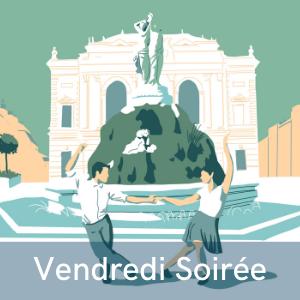 Programme vendredi soirée du festival de musiques et de danses swing, Swinging Montpellier