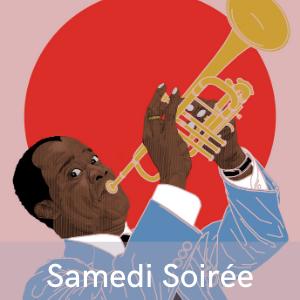 Programme samedi soirée de gala en hommage à Louis Armstrong au festival de musiques et danses swing, Swinging Montpellier