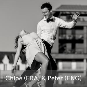Les stars de la nouvelle scène française, Chloé (FRA) & Peter (ENG) au festival Swinging Montpellier