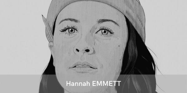 Hannah Emmett, illustratrice de l'affiche de la soirée de gala du festival swinging montpellier