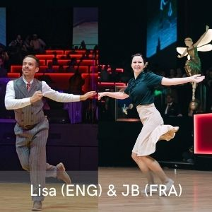 lisa et jb professeur lindy hop swing montpellier 2021