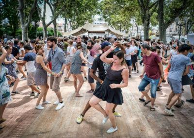 Danseurs de swing à Montpellier